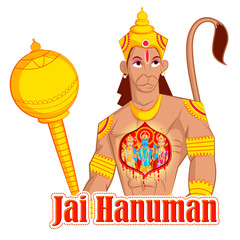 Lord Rama, Laxmana, Sita with Hanuman
