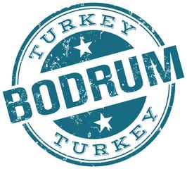 bodrum turkey stamp