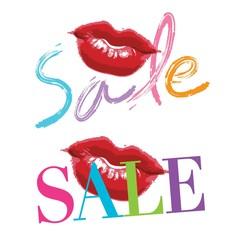Lipstick kiss, sale