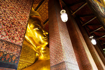 buddha sculpture in thailand temple
