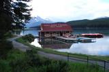 Maligne lake - Canada poster