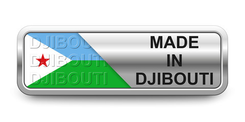 Made in Djibouti Button