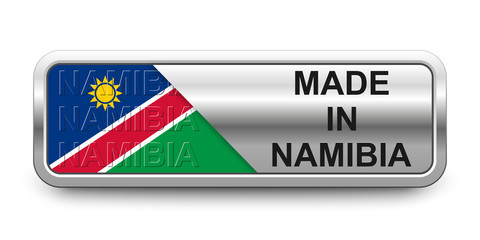 Made in Namibia Button