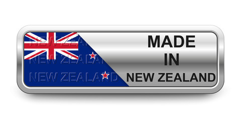 Made in New Zealand Button
