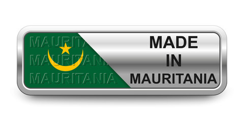 Made in Mauritania Button