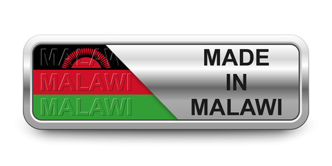 Made in Malawi Button