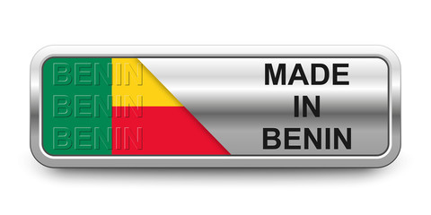 Made in Benin Button