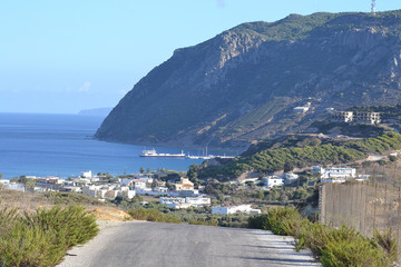 View of Kefalos on Kos island