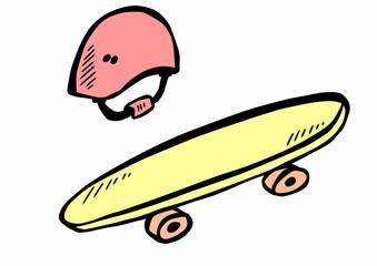 Doodle skateboard
