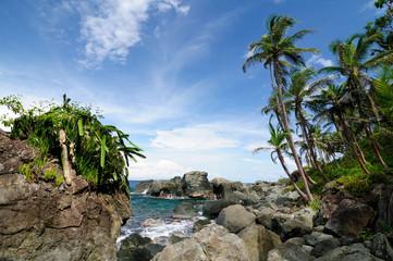 Colombian Caribbean coast near Panama border