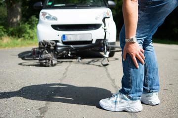 verletzung nach fahrradunfall