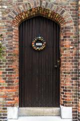 Door decor PRIVE in Brugge, Flanders, Belgium