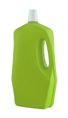 Laundry liquid detergent bottle
