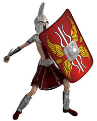 roman soldier cartoon self deffence