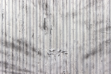 Grunge silver iron surface as background