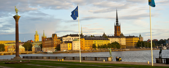 Old Town View, Stockholm, Sweden