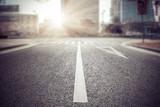 Fototapety empty street