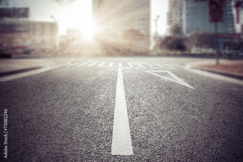 empty street - 70082246