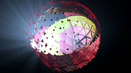 Animated sphere