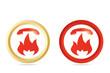 Symbols of fire