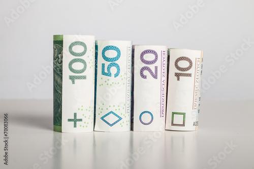Wartość pieniądza - złotówki - finanse - 70083066