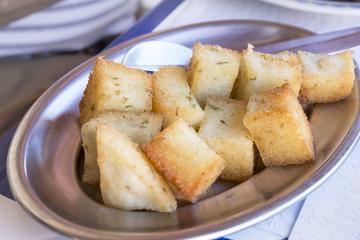 Portugiesisches Milho fritto oder frito