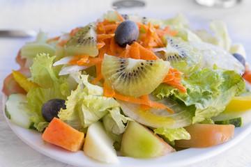 Gemischter Salat, portugiesische Art