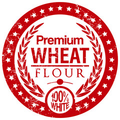 wheat flour stamp