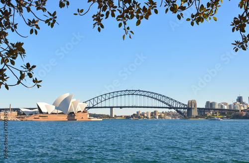 Opera House and Harbour Bridge - 70083496
