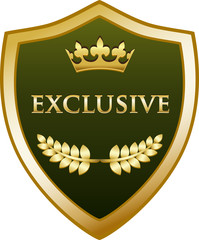 Exclusive Gold Shield