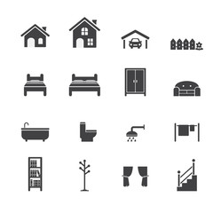 House related icons