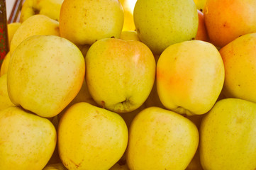 Retro look Apple fruit