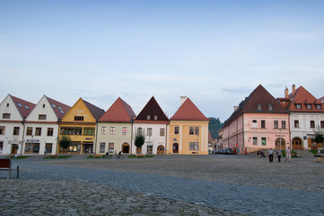 Bardejov - UNESCO-Stadt - Panorama in Abend