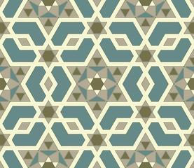 Mosaic seamless pattern. Vector file