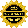 Warranty Gold Badge