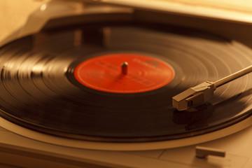 レコードとレコードプレーヤー
