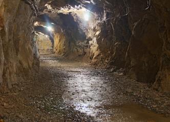 Underground Mining Tunnel