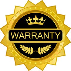 Warranty Gold Badge