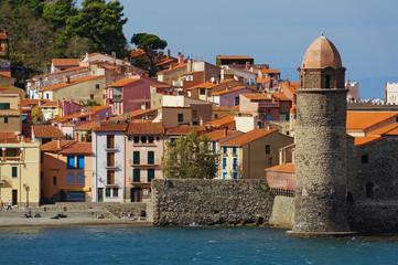 Old French Mediterranean village of Collioure