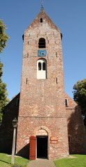 The Margaretha Church in the village Norg