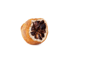 Moldy rotten citrus