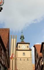 Turm in Rothenburg
