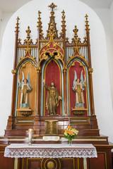 Roman Catholic Altar in Church