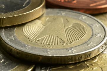 Deutsche Euromünzen Monedas de euro de Alemania German