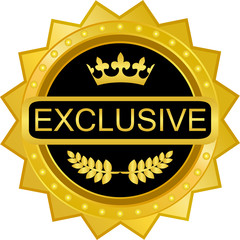 Exclusive Gold Badge