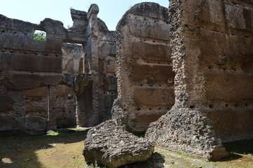 rovine romane di villa adriana italia