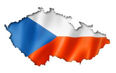 Czech flag map