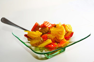 Wide variety of pickled vegetable