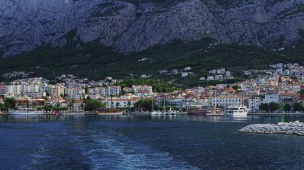 Departure from Makarska