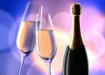 Champagner Violett